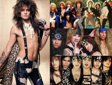 Glam Rock: Hairstyle