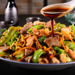 Japanese Yakisoba & Vegetable Stir Fry Noodles