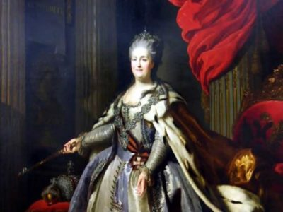 Catherine II, the Great, becomes Empress